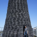45. Wolfgang with the completed, 9m high Cone