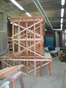 Gap as constructed at Newcastle University, ready to be installed in the Great North Museum.